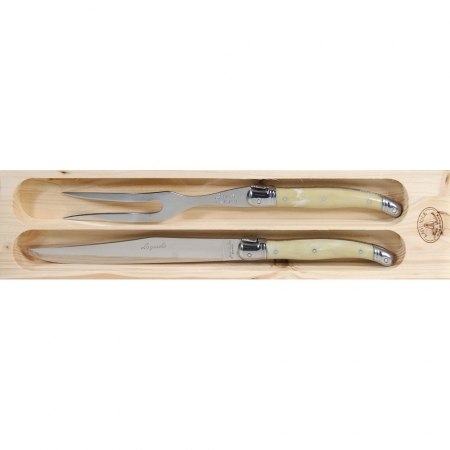 Meat Carving set, laguiole cutlery, wedding gifts