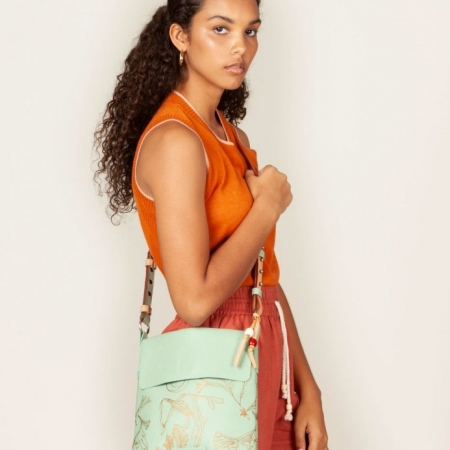 Aqua Foam Akuna Crossbody bag