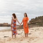 Coral garden Bondi Dress