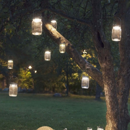 Solar Jar, unusual gifts, outdoor lights, rechargeable lights, gifts for dad, valentines gifts