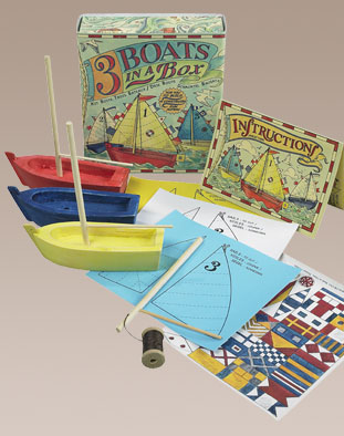 kid's acitivites, hobby boats, kids educational gifts