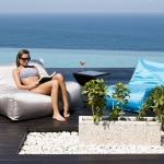 Reclining Bean bag for two people, double beanbag, beanbag for outdoors, bean bag for two indoors, weather proof bean bag