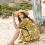 Seaweed Khaki Margaret Dress