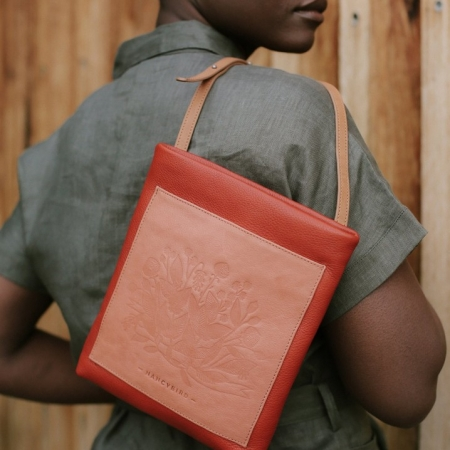 Terracotta Pocket Crossbody bag