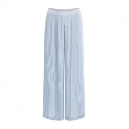 Blue Fog Wide Pleated Pant