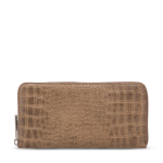 George Gina and Lucy, Wallets, Croc look a like wallets, women's zipped wallets